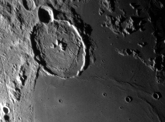 Acercamiento a la luna