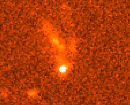 Imagen de la galaxia huésped de GRB 990123