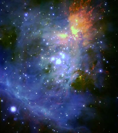 La nebulosa de Orión vista por el Subaru