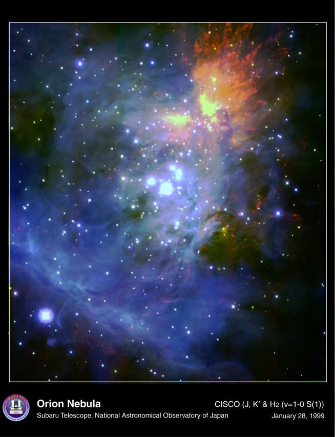 ...стран зафиксировала область активного образования звезд в созвездии Ориона, пишет .