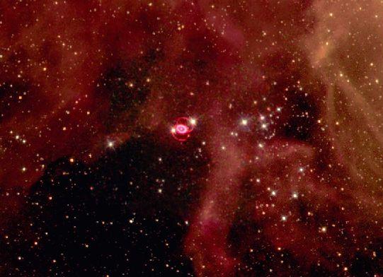 El campo de una supernova