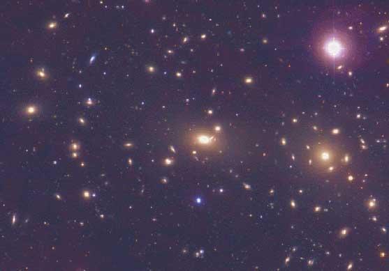 Cúmulo de la Cabellera de Galaxias
