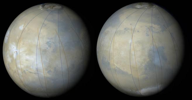Cartografiando Marte