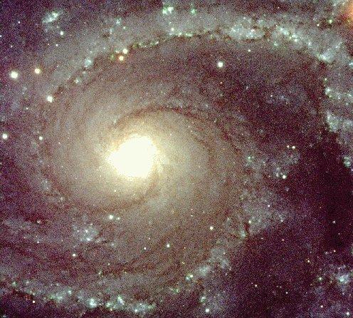NGC 2997 desde un VLT