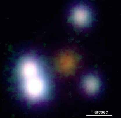 PG 1115+080: Un trébol gravitacional