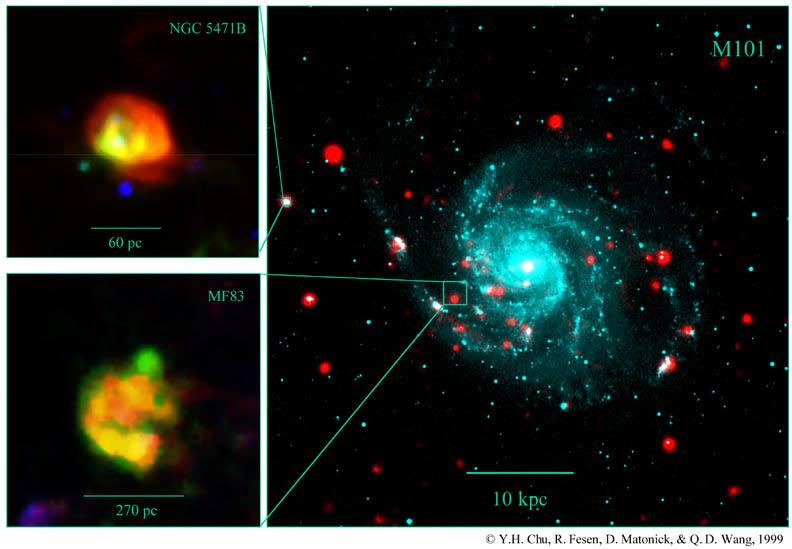 X Ray Radiation >> APOD: April 20, 1999 - Candidates for a Hypernova