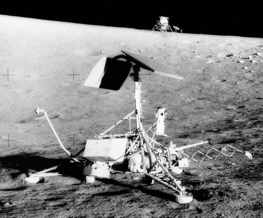 Apolo 12: Surveyor 3 e Intrépido