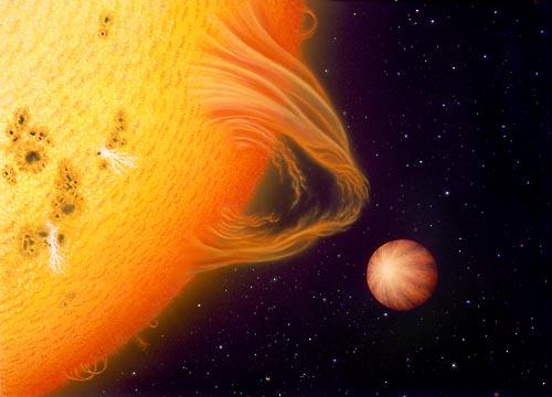 Upsilon Andromedae: un sistema extrasolar