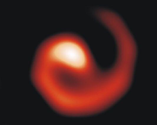 WR 104: la estrella girándula