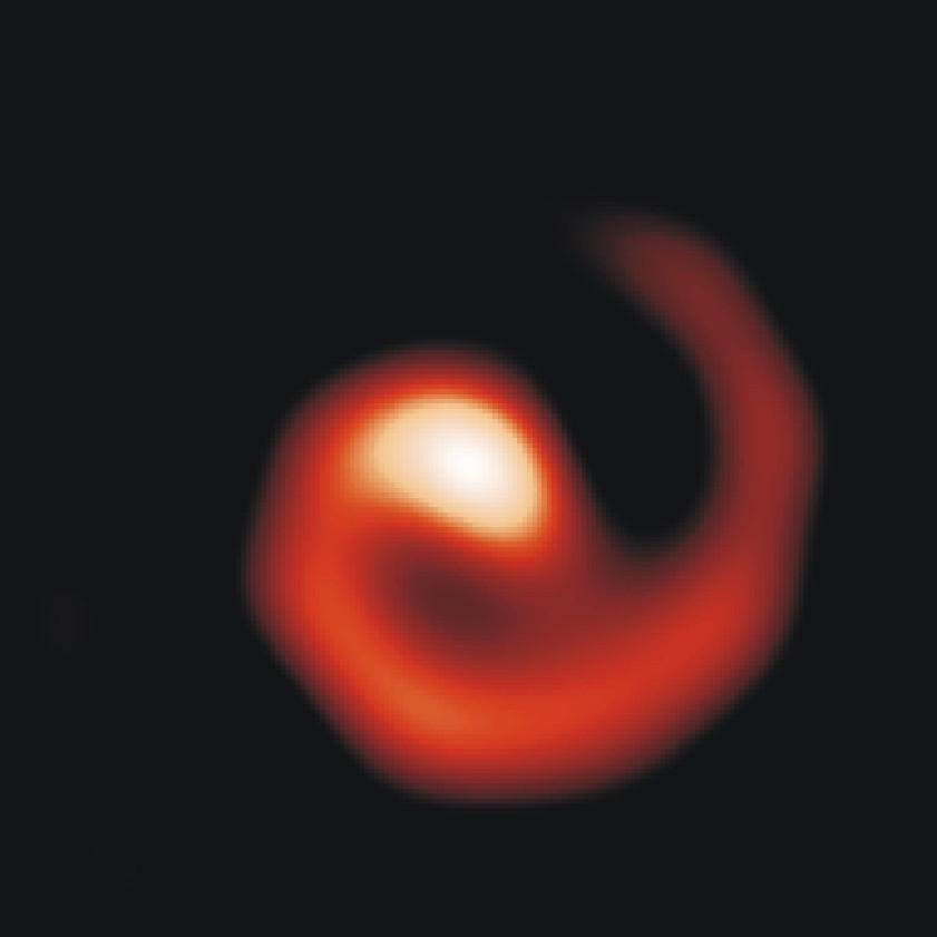APOD: April 9, 1999 - WR 104: Pinwheel Star