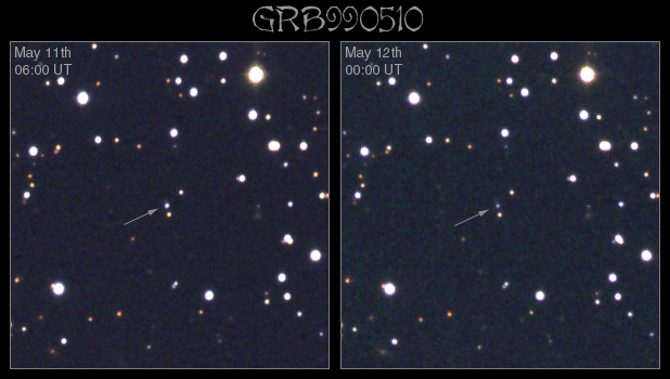 GRB 990510: otra explosión inusual en rayos gamma