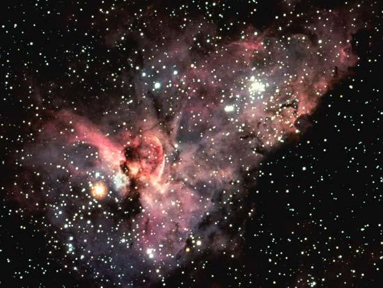 La nebulosa del ojo de cerradura