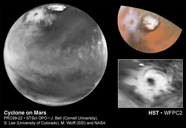 Un Ciclón En Marte