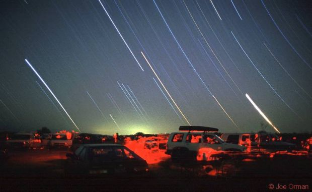 Estelas en la reunión astronómica