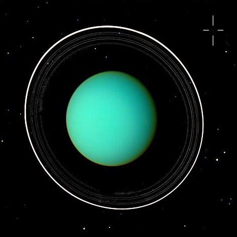 La décimoctava luna de Urano