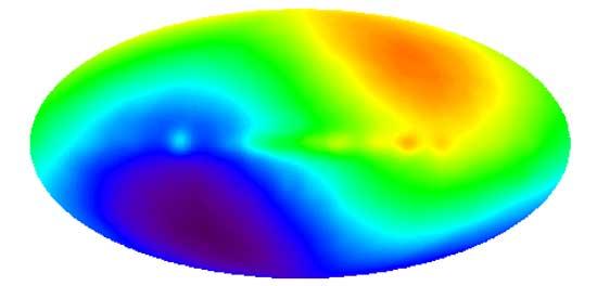 Dipolo COBE: Corriendo a través del Universo
