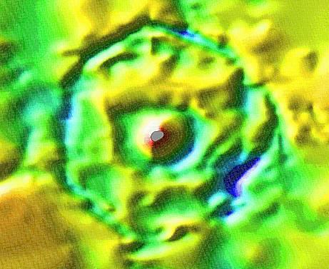 Impaktní kráter Mjølnir