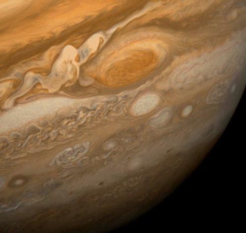 Júpiter desde la Voyager