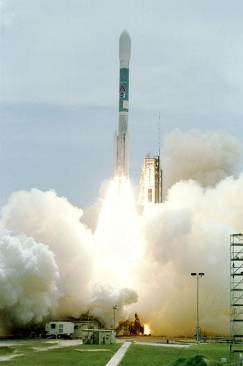 Lanzamiento de un Cohete Delta