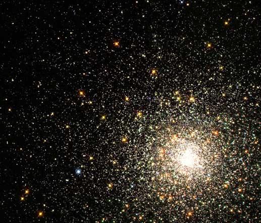 M80: Hustá kulová hvězdokupa