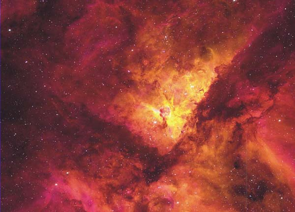 NGC 3372: La gran nebulosa de Carina