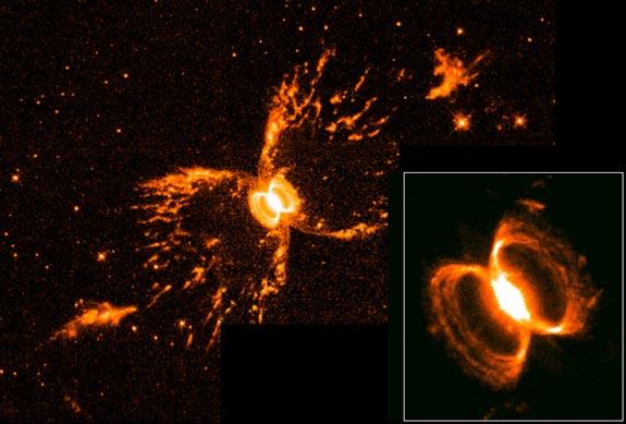 Burbujas estelares simbióticas