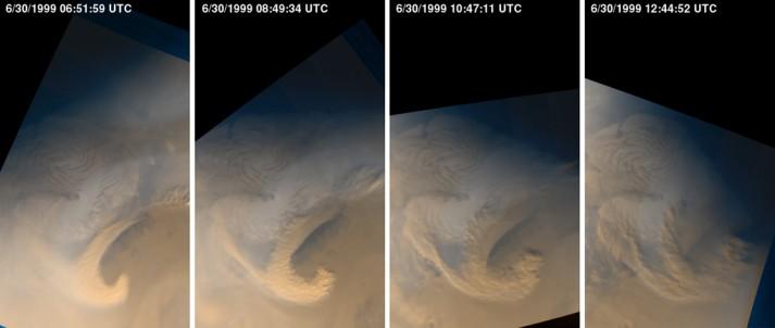 Observación del Clima en Marte