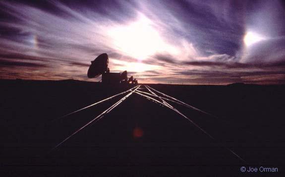 Parhelios sobre el VLA