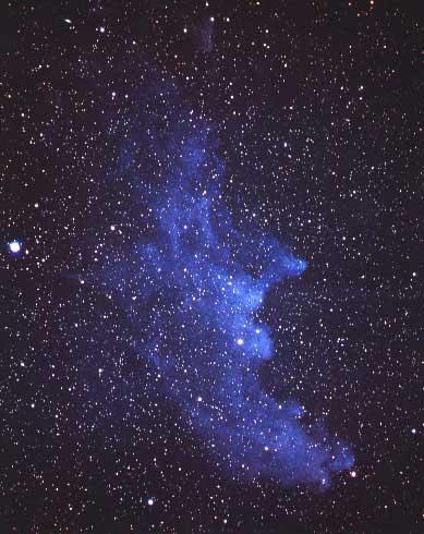 La nebulosa de la cabeza de bruja