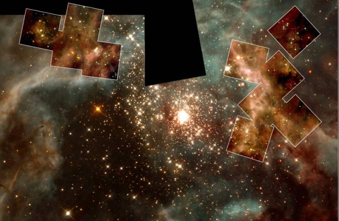 Las estrellas masivas de 30 Doradus