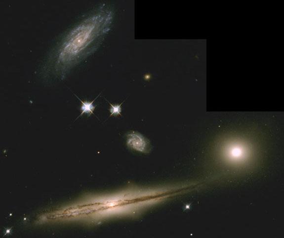 HCG 87: un pequeño grupo de galaxias