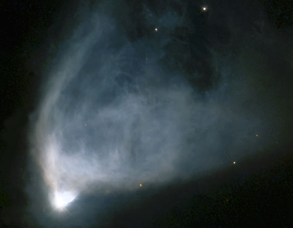 NGC 2261: la nebulosa variable de Hubble