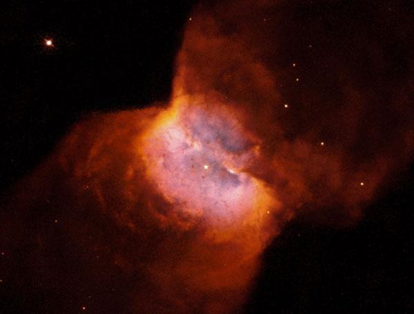 NGC 2346: una nebulosa planetaria en forma de mariposa