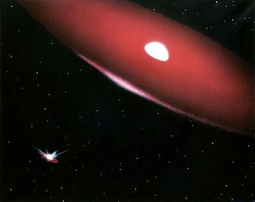 La estrella doble Phi Persei