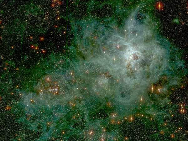30 Doradus: La Nebulosa de la Tarántula