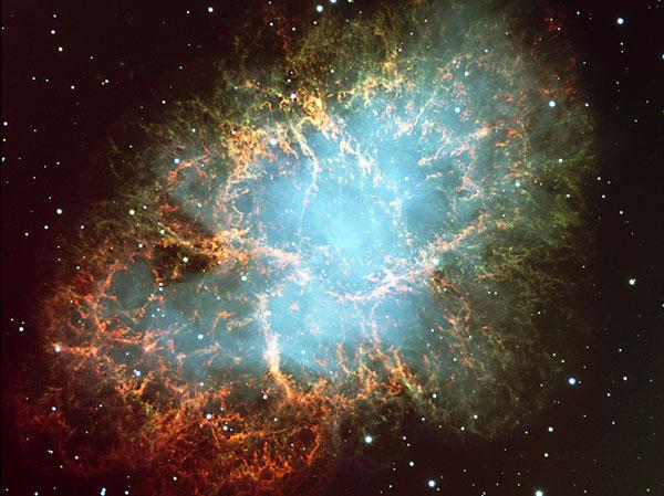 La Nebulosa El Cangrejo desde el VLT
