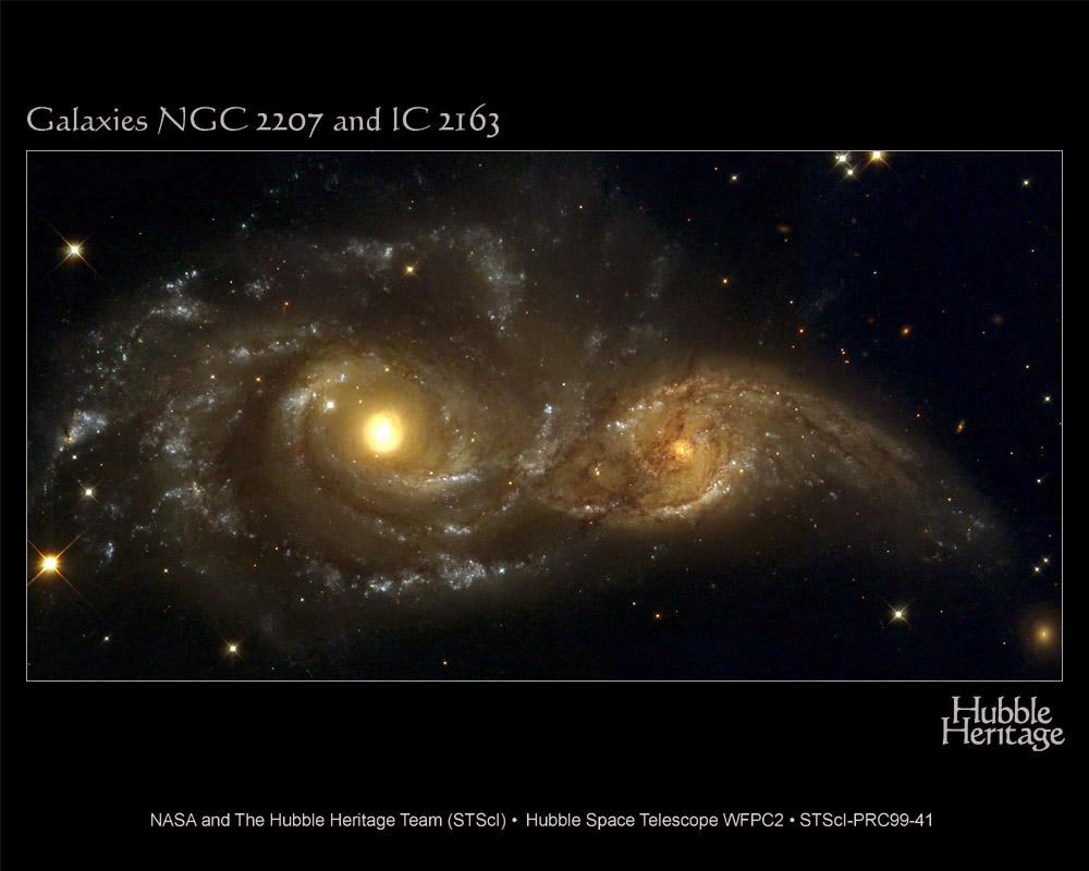 銀河同士の衝突