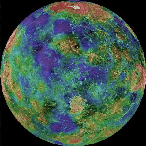 Debajo de las Nubes de Venus