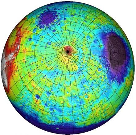 El Sur de Marte