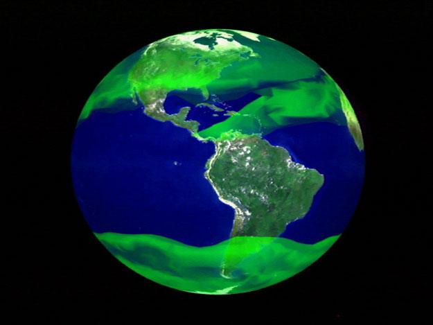 Le méthane s'échappe de l'océan Arctique