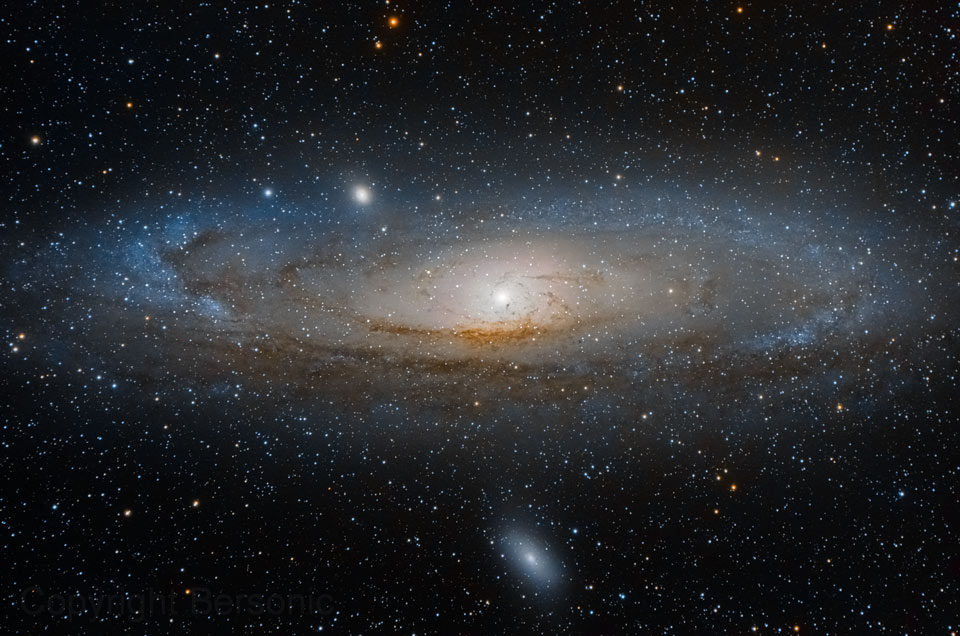 M31: The Andromeda Galaxy  -  Andromeda is the nearest major