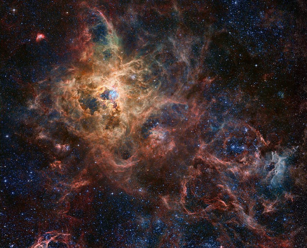 eso tarantula nebula wallpaper - photo #24