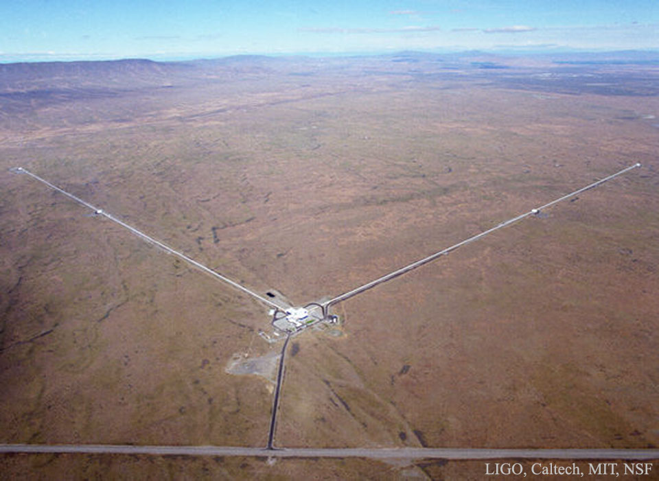 Advanced LIGO: Gravitational Wave Detectors Upgraded     -  Accelerate a charge and you