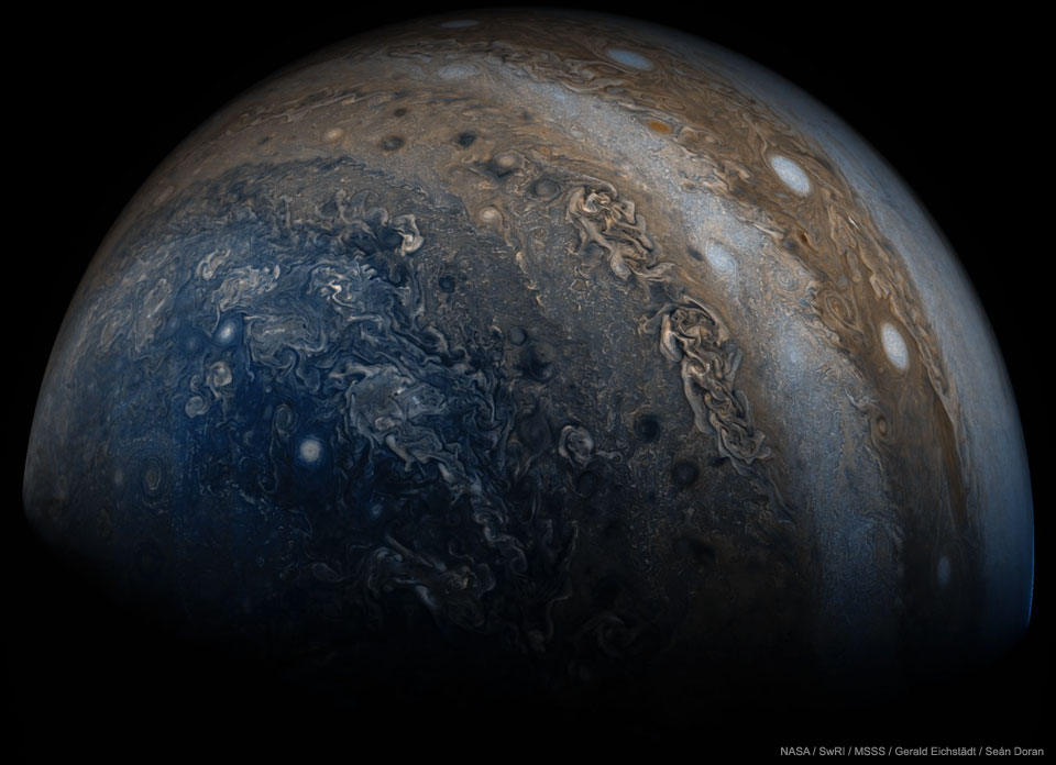 Beneath Jupiter  -  Jupiter is stranger than we knew.