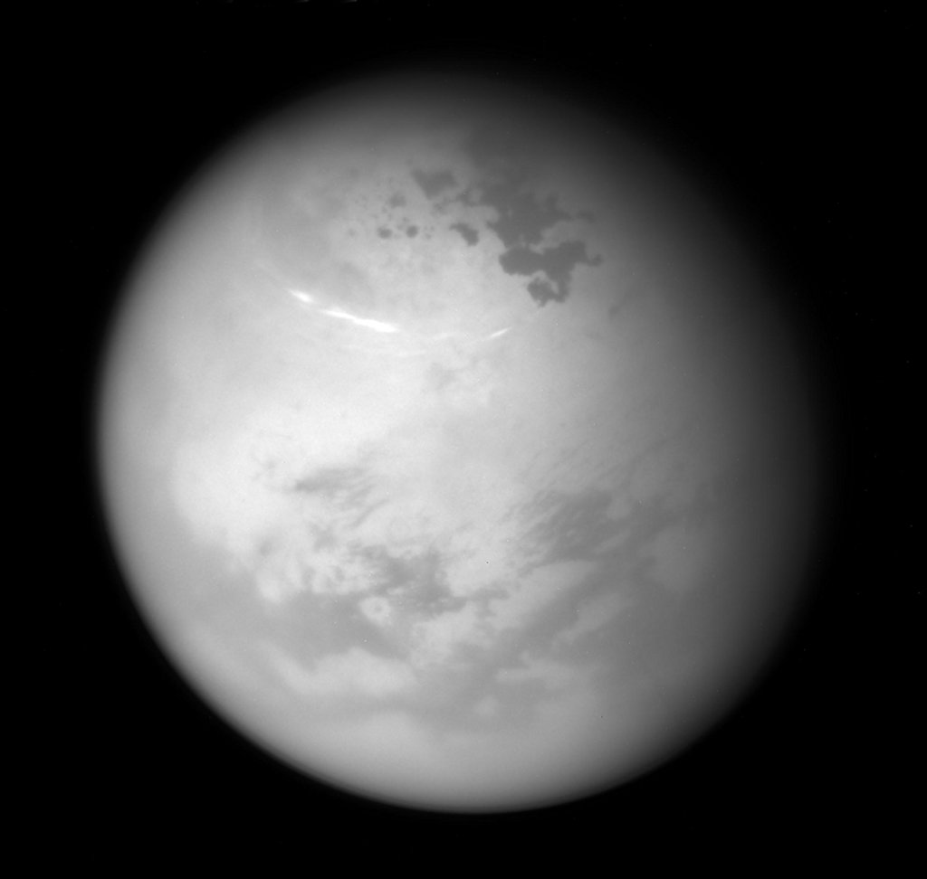 Northern Summer on Titan -  While yesterday