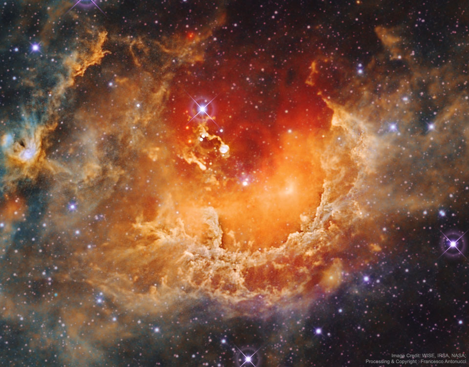 Star Formation in the Tadpole Nebula  -  What